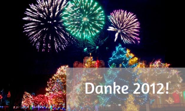 Dankbarkeit – alles Gute für´s neue Jahr